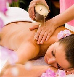 candle massage