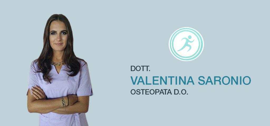 valentina saronio osteopata